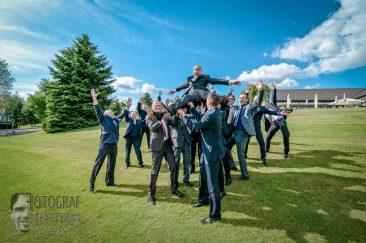hochzeitsfoto, gruppenfoto, bräutigam, hochzeitsfeier