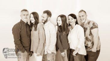 familienfoto, gruppenfoto, studiophoto