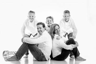 Familienfotografie, Familienphoto, weisser-hintergrund