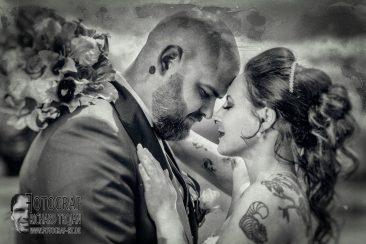 Hochzeitsphotographie schwarz&weiss