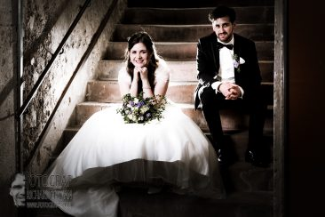 Brautpaar, Blitzfotografie, flash photography