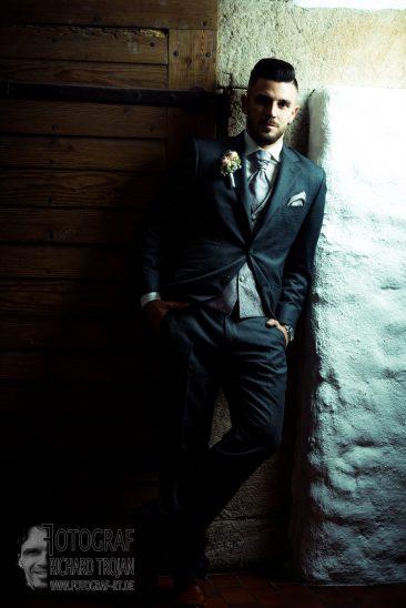 bräutigam, hochzeit, fotograf richard trojan
