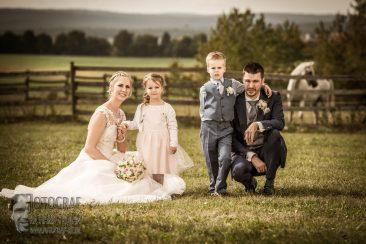 Hochzeit mit pferden, wedding family, hochzeitsfoto familie